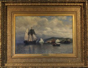 """Off The Coast of Labrador""<br>William Bradford (1823 - 1892)<br>Oil on Canvas Off The Coast of Labrador"