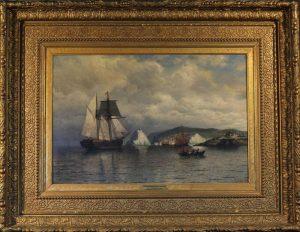 """Off The Coast of Labrador""<br>William Bradford (1823 - 1892)<br>Oil on Canvas Off The Coast of Labrador"