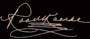 Robert Koenke - Signature -